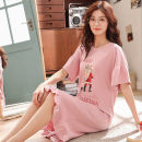 Pajamas / housewear set male Noble figure M L XL XXL cotton Short sleeve Leisure home summer youth 81% (inclusive) - 95% (inclusive) aaa8ef0fa97077ce_ QmM6L Cotton 100% Summer of 2019 Pure e-commerce (online only) Cotton 100%