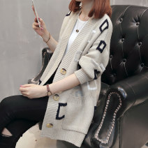 Wool knitwear Autumn of 2018 S M L XL Soft blue 213856 Caramel light red 213856 Caramel light red Long sleeves Cardigan other More than 95% Regular routine commute easy V-neck routine other Single breasted JD7756 Bei Xueli Pocket button Other 100% Pure e-commerce (online only)