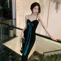 Dress Summer 2021 Picture color S, M Mid length dress singleton  Sleeveless commute other Solid color Socket other other camisole 18-24 years old Korean version 31% (inclusive) - 50% (inclusive)