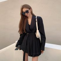 Fashion suit Autumn 2020 S,M,L Jacket, skirt 18-25 years old 31% (inclusive) - 50% (inclusive)