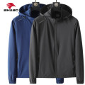 Jacket Other / other Fashion City Black [men's], gray blue [men's], denim blue [men's], dark gray [men's], pink [women's], rose [women's], cherry [women's], moon blue [women's], purple [women's], purple [women's] L,XL,2XL,3XL,4XL,5XL thin standard motion autumn Long sleeves Wear out Detachable cap