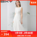 Dress Summer of 2019 Yellow purple white pink orange red scarlet S M L XL longuette singleton  Sleeveless street Crew neck High waist Solid color Socket other Others 25-29 years old Type A bxv 19BBBE88002 More than 95% silk Mulberry silk 100% Europe and America