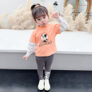 suit McDonnell Orange 80cm 90cm 100cm 110cm 120cm 130cm female spring and autumn Korean version Long sleeve + pants 2 pieces routine There are models in the real shooting Socket nothing other MDD-165432588 Class A Other 100% Spring 2021 Chinese Mainland Guangdong Province Jiangmen City