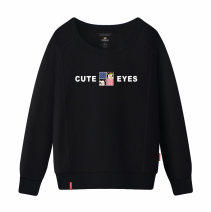 Sweater / sweater Autumn 2016 M L XL XXL XXXL S Long sleeves have cash less than that is registered in the accounts Socket singleton  routine Crew neck Self cultivation commute routine Cartoon animation 18-24 years old 96% and above Ohlyah Korean version cotton OLY8800119 Printing thread Cotton liner