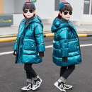 Cotton padded jacket male No detachable cap other extremely Lake blue (hot sale) silver (hot sale) black (hot sale) 90% white down jacket (blue) 90% white down jacket (magic color) 110cm 120cm 130cm 140cm 150cm 160cm thickening Zipper shirt Korean version There are models in the real shooting Class C