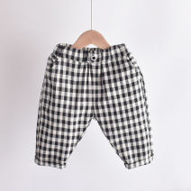 trousers Other / other male 80cm,90cm,100cm,110cm,120cm,130cm,140cm black summer Cropped Trousers No model Leather belt middle-waisted Cotton and hemp Don't open the crotch Other 100% AW-GZ02
