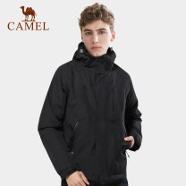 pizex male Camel nylon 228t Taslon matting 1001-1500 yuan two thousand four hundred and sixty-eight S,M,L,XL,XXL,XXXL Winter, spring, autumn Z9W2YW101. Waterproof, windproof, wear-resistant, warm, other Autumn 2020 China Cotton jacket PU coating 5000mm and below polyester fiber Urban outdoor routine