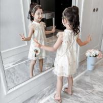 Dress female Heinimu 110cm 120cm 130cm 140cm 150cm 160cm Other 100% summer Korean version Skirt / vest Broken flowers blending A-line skirt Class B Summer 2021 3 years old, 4 years old, 5 years old, 6 years old, 7 years old, 8 years old, 9 years old, 10 years old, 11 years old, 12 years old