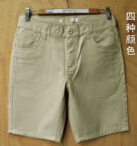 Casual pants Others other Gray, black, off white, brown, blue 27 (2.00 feet), 28 (2.10 feet), 29 (2.20 feet), 30 (2.30 feet), 33 (2.60 feet) routine Shorts (up to knee) Other leisure Straight cylinder No bullet 103 short summer youth American leisure 2021 middle-waisted Straight cylinder washing