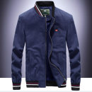 Jacket Jeep shield Fashion City 4XL M L XL 2XL 3XL thin easy Other leisure spring Cotton 100% Long sleeves Wear out Detachable cap Military brigade of tooling youth routine Zipper placket Rib hem No iron treatment Closing sleeve Solid color Denim Spring of 2019 Zipper decoration Side seam pocket