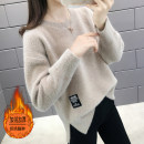 sweater Autumn of 2019 S M L XL Long sleeves Socket singleton  Regular other 95% and above Crew neck Regular routine Solid color Straight cylinder Regular wool Keep warm and warm 25-29 years old Shebetsy thread Other 100% Pure e-commerce (online only)