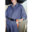 Casual pants S,M,L,XL Spring 2021 trousers Overalls High waist commute thickening 25-29 years old Retro Viscose