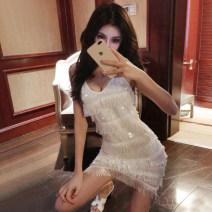 Dress Autumn 2020 White, black Average size