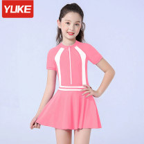 Children's swimsuit / pants Yuke Children's one piece swimsuit female spandex YY-1734 Winter of 2019 no Pure e-commerce (online only)