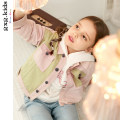 Jacket / leather gxg kids female Yellow pink yellow pink B 110cm 120cm 130cm 140cm 150cm Pure cotton (100% cotton content) leisure time spring and autumn routine nothing Zipper shirt There are models in the real shooting 12Y221503E stand collar other Cotton 100% Autumn of 2019