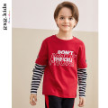 T-shirt gules gxg kids 105cm 110cm 120cm 130cm 140cm 150cm male spring and autumn Long sleeves Crew neck leisure time No model nothing Cotton blended fabric Cotton 91.9% polyurethane elastic fiber (spandex) 8.1% KY134256Aa Class B Spring of 2019