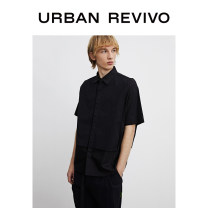 shirt Youth fashion UR L,S,M,XS It's black thick other Short sleeve easy Other leisure summer youth