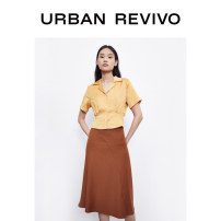 shirt Ginger  S XL XS L M XXL Summer 2020 polyester fiber 96% and above Short sleeve other Short style (40cm < length ≤ 50cm) other other other other 25-29 years old UR 1WE17R2GE2005 Polyester 100% Same model in shopping mall (sold online and offline)