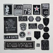 Cloth stickers F001f002f003f005f006f007f008f009f017f018f021f023f026f027f028f029f031f032f033f035 a set of 22 f037f038f022 Embroider solid Solid color babysbreath