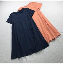 Dress Summer of 2019 Dark blue, orange, ginger, black (will fade), dark blue (New), brick red M,L,XL,2XL