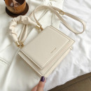 Mobile phone bag PU Huanhai / HH KS Black, white brand new zipper Solid color Japan and South Korea female Horizontal style youth Sewing synthetic leather 90% off soft surface