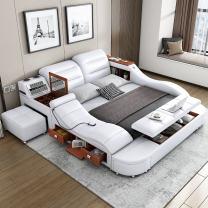Leather art bed genuine leather Simple and modern yes no yes other 2 people other other Zhenggu c2029 2 Guangdong Province Foshan City Contact surface leather Shunde District All cities 300 massage 1500mm*2000mm Regular Edition Frame structure
