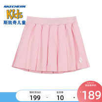 skirt 110cm 120cm 130cm 140cm 150cm 160cm Orchid powder / 0093 SKECHERS / SKECHERS female Other 100% spring and autumn leisure time cotton L121G033 Class B Spring 2021