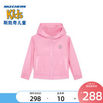 Plain coat SKECHERS / SKECHERS female 90cm 100cm 110cm 120cm Lilac / 00u4 glow yellow / 011v spring leisure time No detachable cap letter other L221G025 Polyamide (nylon) 95% other 5% Class B Spring 2021