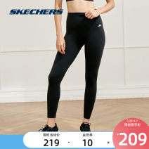 Fitness pants S 155/80A M 160/84A L 165/88A XL 170/92A XXL 175/96A female SKECHERS / SKECHERS yoga ventilation trousers middle-waisted Tight trousers Autumn 2020 nylon yes
