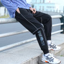 Casual pants Others Youth fashion black S. M, l, XL, 2XL, 3XL, XS plus small routine trousers Other leisure easy Micro bomb spring teenagers tide 2021 middle-waisted Little feet Polyamide fiber (nylon) 90% polyurethane elastic fiber (spandex) 10% Sports pants No iron treatment Alphanumeric nylon