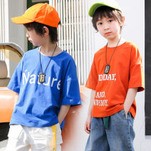 T-shirt Ant Xiaofei male summer Short sleeve Crew neck Korean version There are models in the real shooting nothing cotton other Cotton 95% polyurethane elastic fiber (spandex) 5% Class B other Chinese Mainland Guangdong Province Guangzhou City