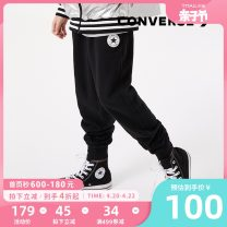 trousers Converse / converse male winter trousers leisure time There are models in the real shooting Casual pants Leather belt middle-waisted Cotton blended fabric Don't open the crotch Cotton 100.00% Class B Winter 2020
