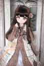 BJD doll zone suit 1/4 Over 8 years old goods in stock brown Four, six Other / other dollhouse