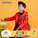 Plain coat Moomoo male 110/52 110/56 120/60 130/64 140/68 150/72 160/80 Red moon blue black spring and autumn leisure time Zipper shirt routine No detachable cap other other Polyester 100% Class B Autumn of 2019