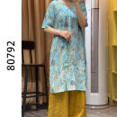 Women's large Summer 2021 blue Average size Dress other other other 40-49 years old 51% (inclusive) - 70% (inclusive)