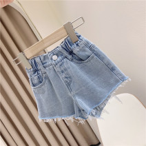 trousers Other / other female 100cm / tag 5110cm / tag 7120cm / tag 9130cm / tag 11140cm / tag 13150cm / tag 15 One piece denim shorts summer shorts Europe and America No model Jeans Leather belt middle-waisted other Don't open the crotch Other 100% other 2, 3, 4, 5, 6, 7, 8, 9, 10, 11, 12 years old