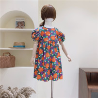 Dress One piece dress female Other / other 100cm / tag 100110cm / tag 110120cm / tag 120130cm / tag 130140cm / tag 140 Other 100% summer Minority Short sleeve Broken flowers other A-line skirt other Three, four, six, seven, eight, nine, ten, eleven, twelve Chinese Mainland