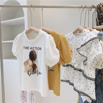 T-shirt Single T-shirt yellow, single T-shirt white Other / other 100cm / tag 5110cm / tag 7120cm / tag 9130cm / tag 11140cm / tag 13 female summer Short sleeve Crew neck Simplicity No model nothing other printing Other 100% other other 2, 3, 4, 5, 6, 7, 8, 9, 10, 11 Chinese Mainland