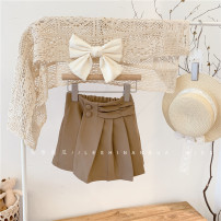 skirt Hang tag (1357 / 11 cm), hang tag (1057 / 11 cm), hang tag (150 / 100 cm) Coffee color q20577 is in stock, and coffee color q20577 is expected to arrive on March 10 Other / other female Other 100% spring and autumn skirt Korean version Solid color Pleats Cotton blended fabric