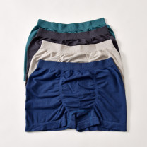 underpants male Other / other 1 other middle-waisted Simplicity Solid color youth Modal fabric