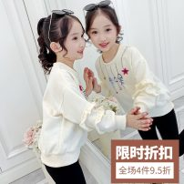 Sweater / sweater Nani Xiaobei female 90cm 100cm 110cm 120cm 130cm 140cm 150cm 160cm spring and autumn nothing Korean version Socket Thin money There are models in the real shooting cotton Cotton 85% polyester 15% Class B Autumn 2020