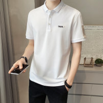 Polo shirt Visionary Youth fashion routine Pl313 white pl313 black pl313 orange pl280 white pl280 black pl280 Khaki 6652 white 6652 black pl52 white pl52 white pl52 black pl52 M L XL 2XL 3XL Self cultivation Other leisure summer Short sleeve TG956 tide routine youth cotton No iron treatment