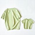 Parent child fashion green A family of three Male and female The pomegranate is red Size 80, Size 90, size 100, Size 110, Size 120, size s, size m, size L, Size 90, size m, size m, Size 120 Parents with the same model, can wear to about 150 kg, XL parents with the same model, can wear to about 180 kg