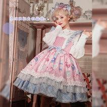 Lolita / soft girl / dress Cat ball line Doll dresser S,M,L No season goods in stock Lolita, soft girl