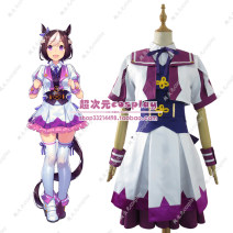 Cosplay women's wear suit Customized Over 14 years old female comic S. M, l, XL, XXL, customized Super dimensional cosplay Japan Jockey girl Jockey girl