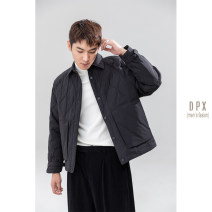 Down Jackets Off white, blue, apricot, black Others White duck down S,M,L,XL,2XL,3XL Fashion City go to work routine routine Wear out Lapel Down liner youth Basic public The appearance is loose and the inside is closed Solid color 2020 Edit case