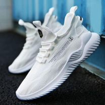 Low top shoes Zipper Jifanpaul Cloth Round head Cloth Outdoor leisure shoes leisure time Color matching Flat heel PVC  ventilation Tide 09 Daily leisure Spring 2021 Lefu shoes 39 40 41 42 43 44
