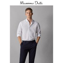 shirt Fashion City Massimo Dutti S (175/92A) M (180/96A) L (185/104A) XL (185/108A) XXL (190/116A) white routine Pointed collar (regular) Long sleeves Self cultivation go to work 00149113250-25 Cotton 100% Summer of 2019 Same model in shopping mall (sold online and offline)