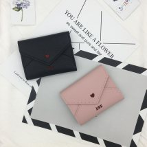 wallet Short Wallet PU Other / other Light pink grey green black brand new female Buckles polyester fiber soft surface