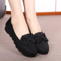 Low top shoes three hundred and fifty-three billion six hundred and thirty-seven million three hundred and eighty-three thousand nine hundred and forty Fulaihong Wispy surface black wispy surface red wispy surface purple black red purple Round head Flat bottom cloth Shallow mouth Low heel (1-3cm)